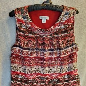Christopher & Banks Dressy Lined Tank Top